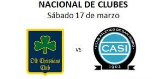 RUGBY PLANTEL SUPERIOR: Nacional de Clubes