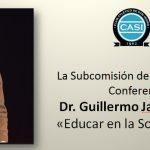 Conferencia del Dr. Guillermo Jaim Etcheverry: Jueves 16 de agosto