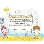 COLONIA DE VERANO 2018-2019 – Inscripción. Reunión informativa jueves 22/11 18:00 hs.