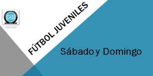 Fútbol Juvenil – Sábado 24 y Domingo 25 de noviembre