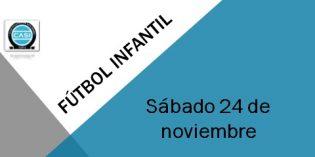 Fútbol Infantil – Sábado 24 y Domingo 25 de noviembre