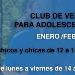 Club de Verano para adolescentes